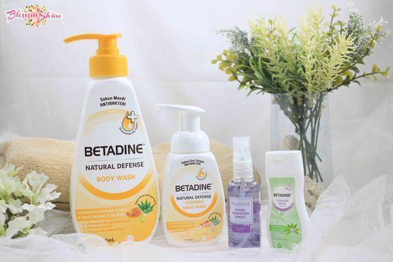 Betadine Natural Defense Family