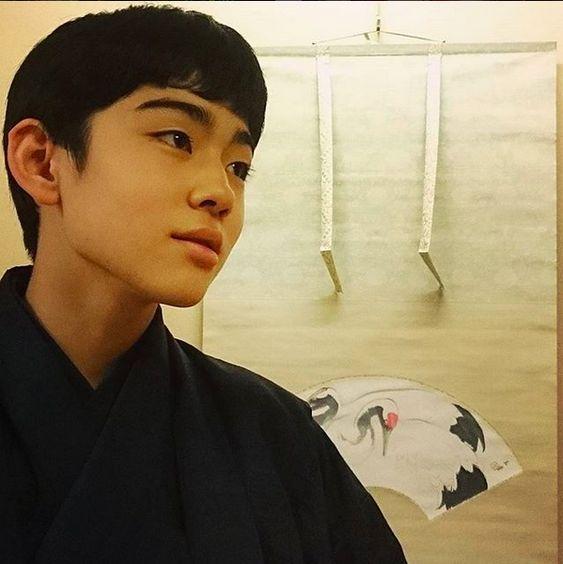 あどけなさが残る八代目市川染五郎のかっこいい画像