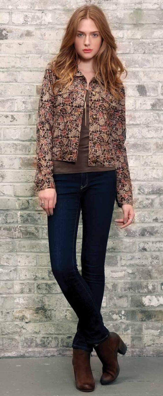 Ballad Jacket in Amethyst Floral