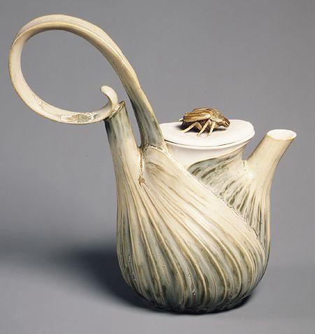 Léon Kann, Coffee service, 1900–1904  Hard-paste porcelain
