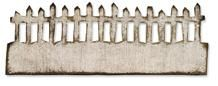 *Tim Holtz Sizzix Die ON THE FENCE Edge Alterations