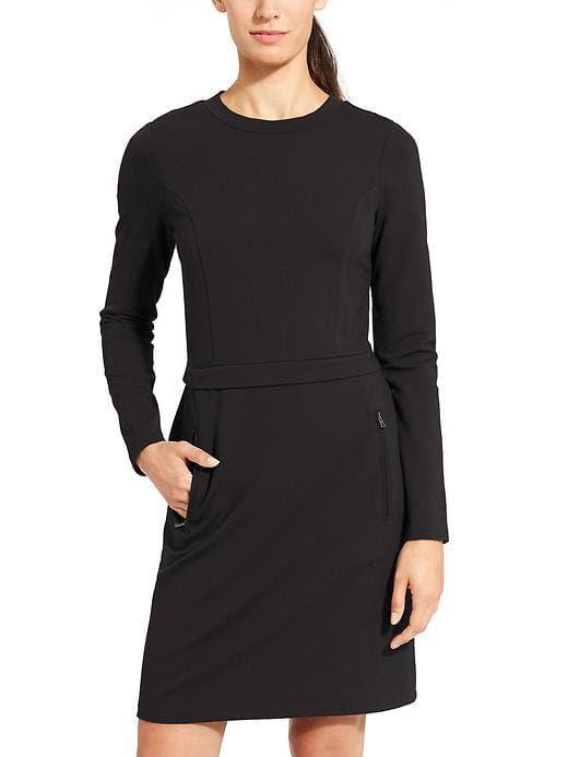 Love this Black Knit Dress