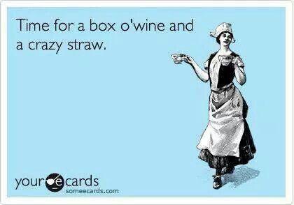 Box o' wine
