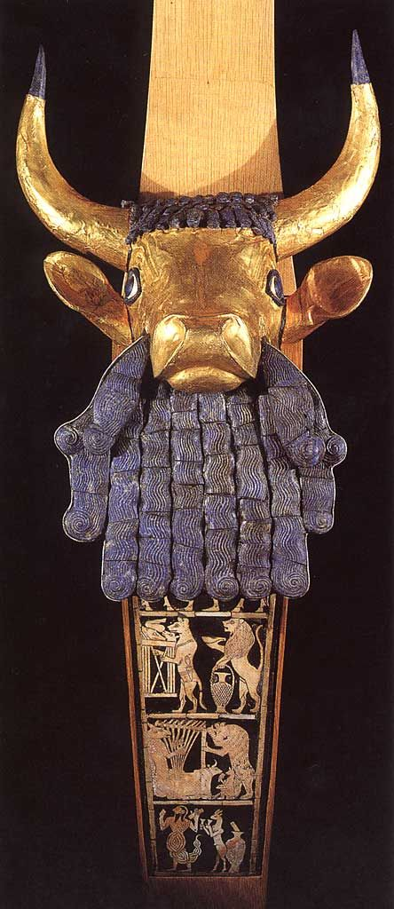 Lyres from The Royal Tombs of Ur