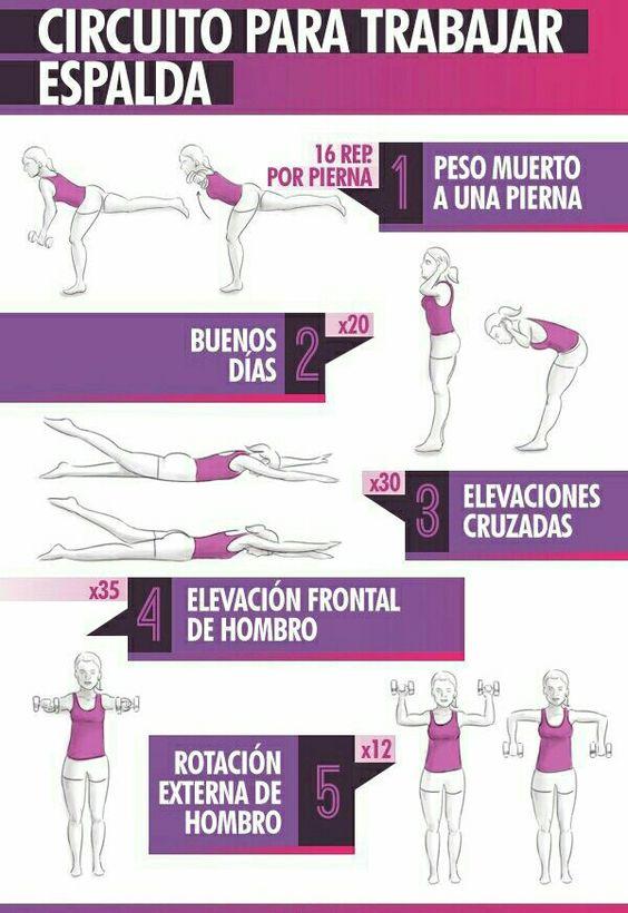 Luce una espalda tonificada este verano con estos ejercicios. ¡Lucirás increíble!