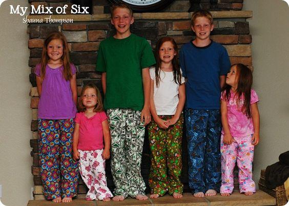 Kids Pajama Pants