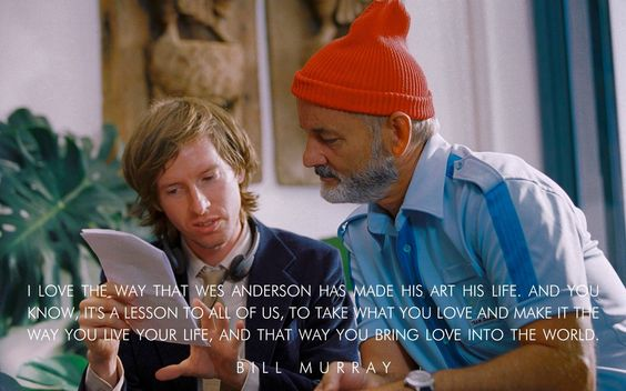 Bill Murray on Wes Anderson