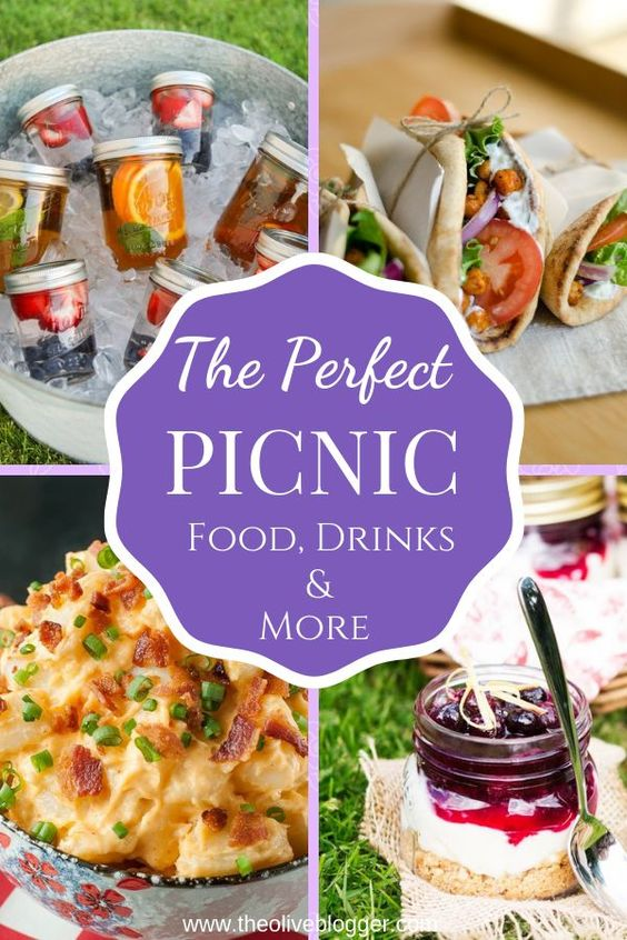 The Perfect Picnic (Food, Drinks & More) - THE OLIVE BLOGGER - Recipes your family will love!