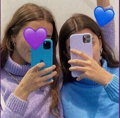 افتار بنات تطقيم Digital Art Girl Cute Couple Videos Cartoon Wallpaper Iphone