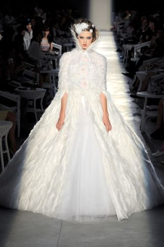 Chanel: Chanel Couture, 2012 Couture, Wedding Gown, Wedding Dresses, Fashion Week, Winter Wedding, Chanel Fall, Chanel Haute