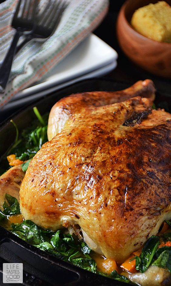 Seasons, Garlic and Whole roasted chicken on Pinterest