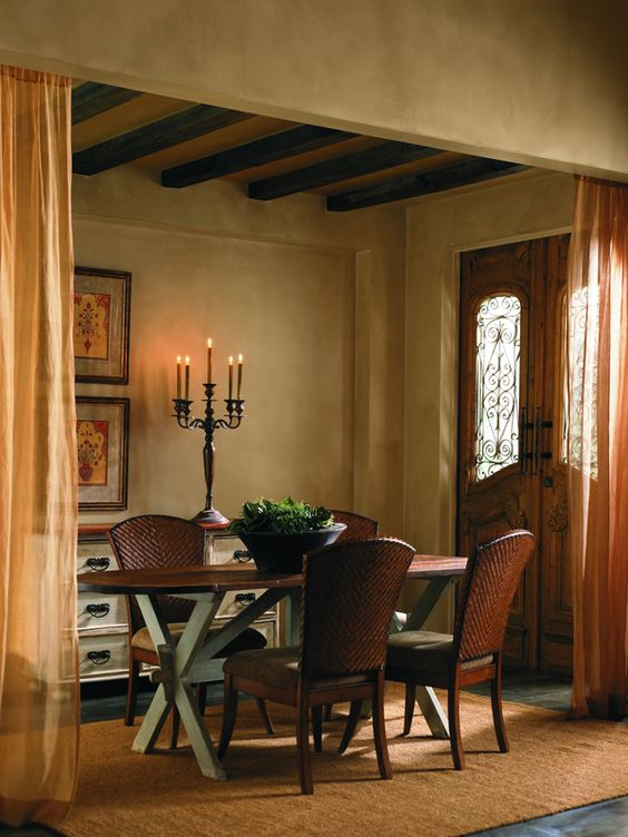 Way to bump neutrals up a few notches this renwick for Warm neutral paint colors for dining room