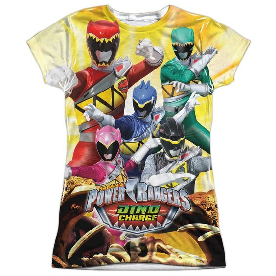 zz LADIES - POWER RANGERS CHARGED FOR BATTLE