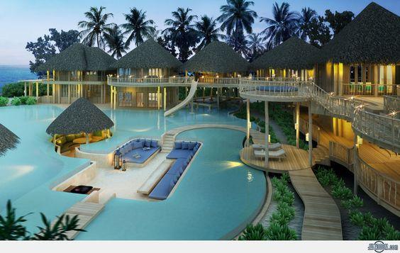 Soneva Fushi Resort, Maldive