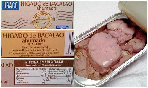 El aceite de hígado de bacalao es un suplemento de omega 3 en toda regla con DHA (ácido docosah