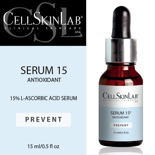 Prevent Serum 15 Antioxidant By Cell Skin Lab Clinical Skin Care 1 5ml 0 5fl Oz See This Great Product This Is An Skin Care Clinic Facial Serum Skin Care