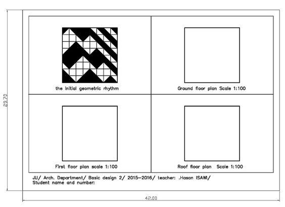 اساسيات التصميم2/ طريقة اخراج المرحلة 6: