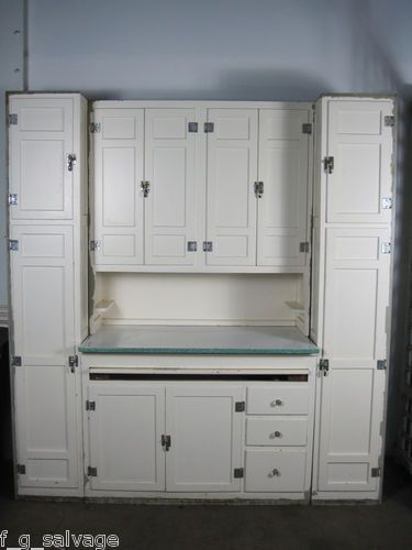 Antique Vintage Kitchen Cabinets McDougall 'Domestic Science ...