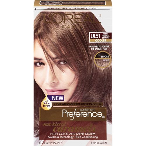 l 39 oreal paris superior preference hair color natural brown coolers and hair color
