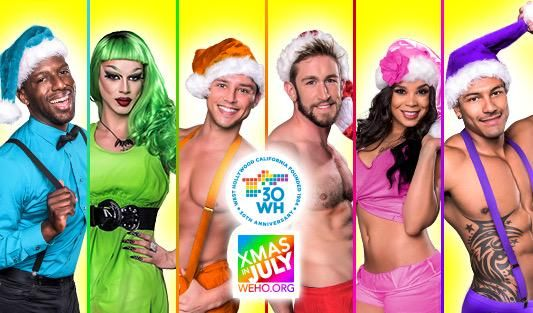 WeHo Celebrates 'Xmas in July' with Bar and Restaurant Specials http://t.co/DKWxxatV99 http://t.co/qoYhVDe0V9