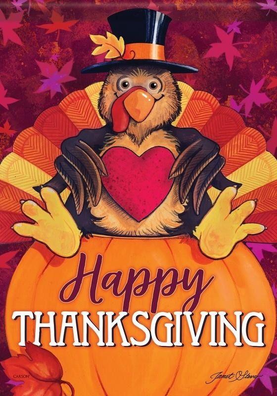 Happy Turkey House Flag Thanksgiving Flag Happy Thanksgiving Turkey Thanksgiving House Flag