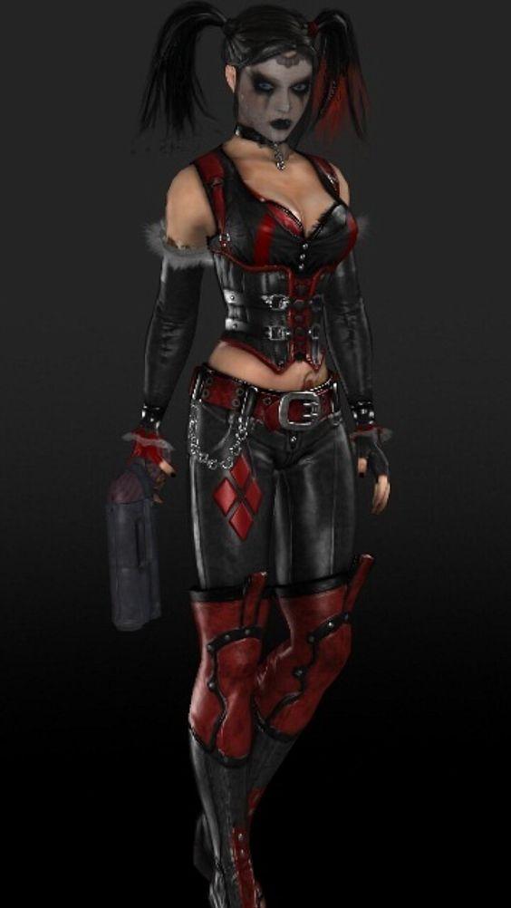 Details about  /Suicide Squad Harley Quinn Batman Dr Harleen Frances Quinzel Cosplay Costume