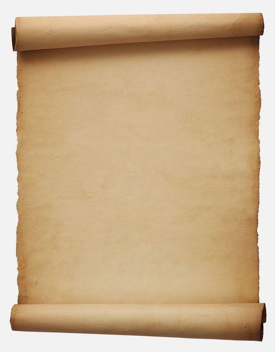 escribir en un pergamino