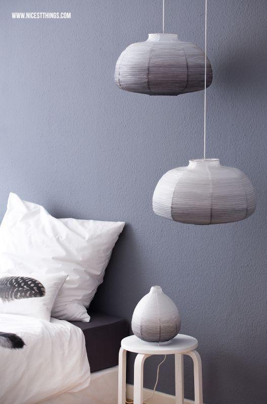 Diy Ombre Lampenschirm Selber Machen Aus Ikea Papierlampe Im Dip