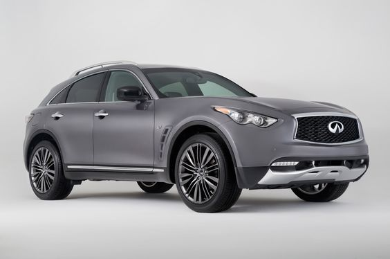 2017 Infiniti QX70 Limited Debuts at 2016 New York Auto Show