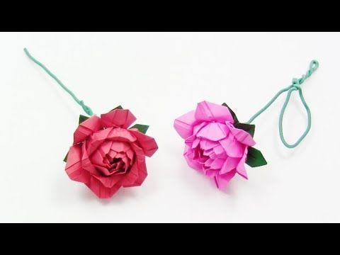Origami Rose Ideas - YouTube | 360x480