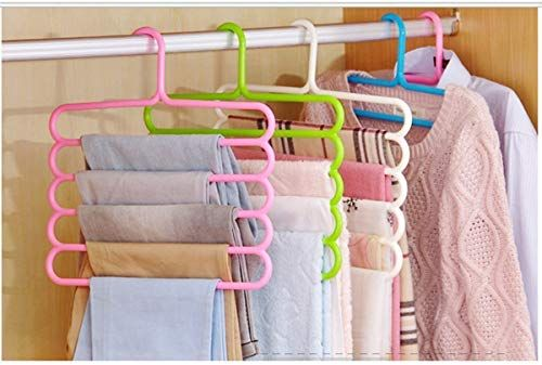 12Pcs DIY Round Hanger Closet Size Label Dividers Blank For Clothes Racks Stores