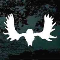 Moose hunting vinyl decals - lots of big game designs to choose from.