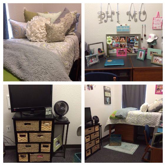 Georgia Southern Dorm Room  College Decor & Tips  ~ 063030_Southern Dorm Room Ideas