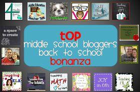 Making It As A Middle School Teacher: Back to School Bonanza