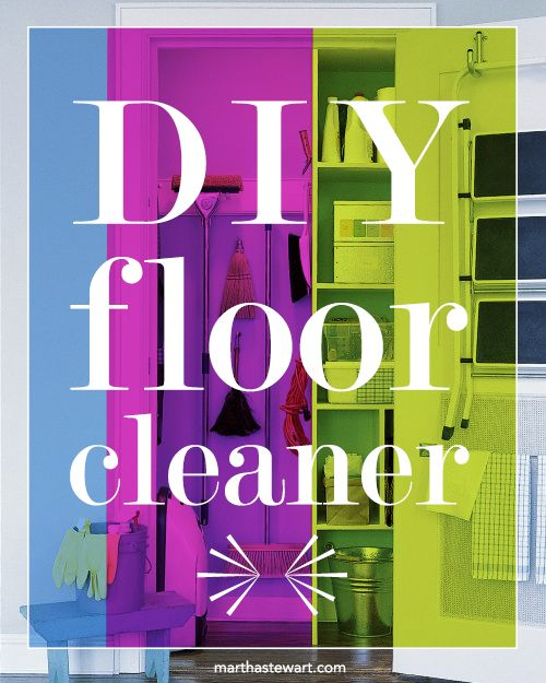 DIY Floor Cleaner | Martha Stewart Living - Wood floors will need only  infrequent cleaning if you vacuum them regularly with the appropriate soft  nozzle ... - DIY Floor Cleaner Floor Cleaners, Martha Stewart And Floors