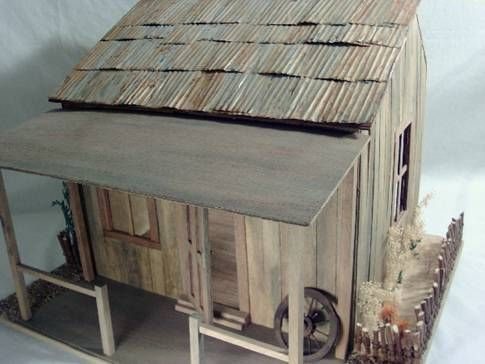 Diy Rusty Tin Roof Or Metal Stored In Shed Using