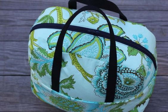 Liesl Made Weekender Bag - Free Sewing Tutorial and PDF Pattern