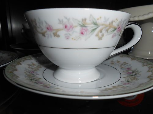 Meito Kenwood China Teacups and Saucers set of 3