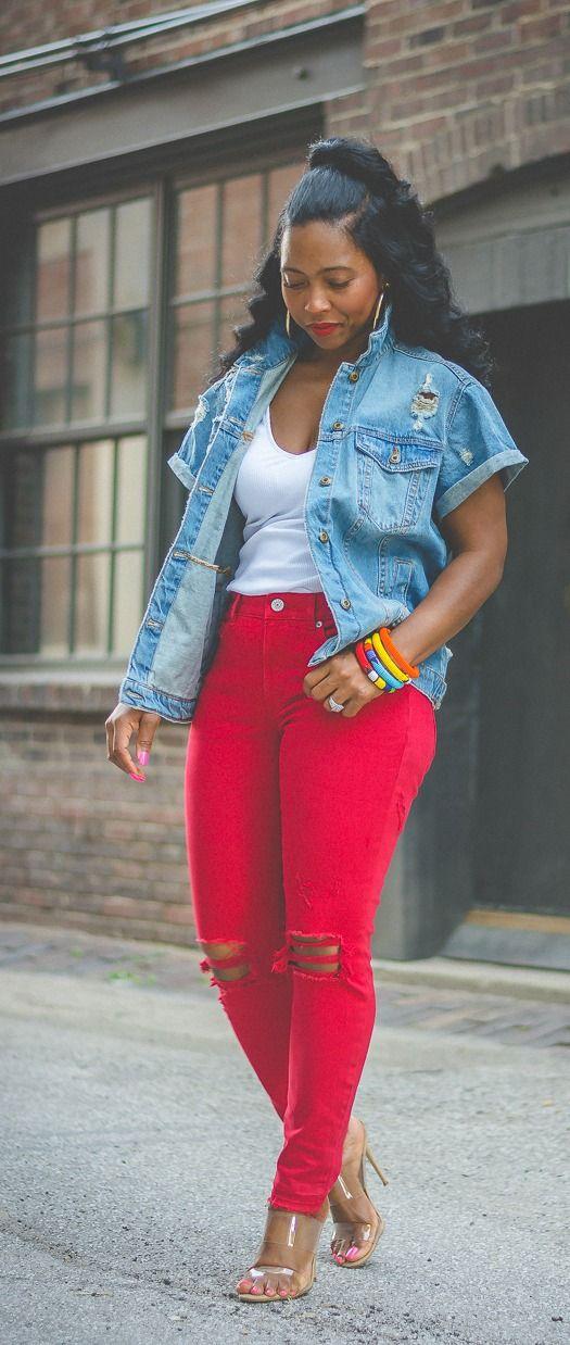 14+ Red jeans for women ideas ideas in 2021