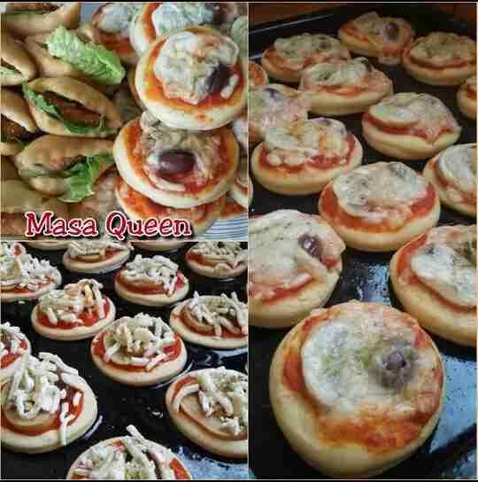 ميني بيتزا الفصول الاربعة بيتزا راائعة بعجينة هشة لاتقااوم زاكي Food Food And Drink Sweet Pastries