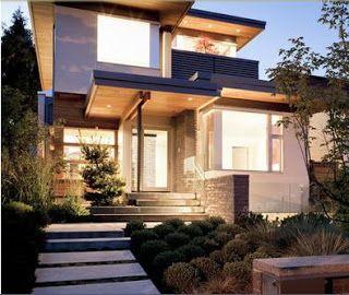 Fachadas de Casas: Fachadas de casas estilo californiano