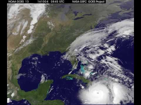 Watch The Hurricane Matthew Wreck Havoc On Earth From The International Space Station