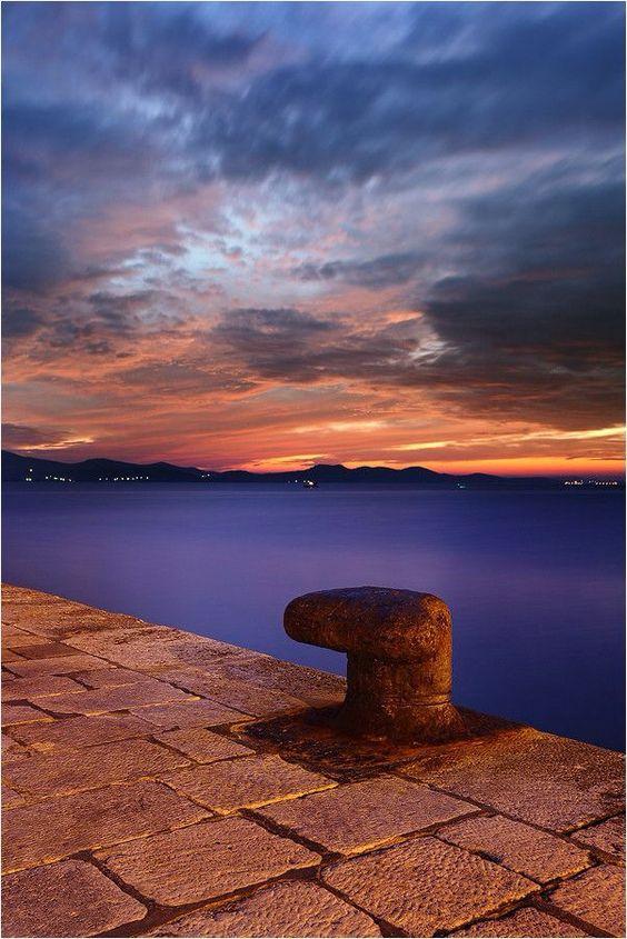 Dusk in Zadar