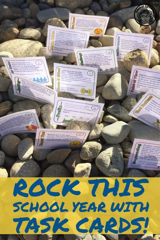 Task cards are highly effective and fun for kids. Get task cards for reading strategies, ELA, math and more!