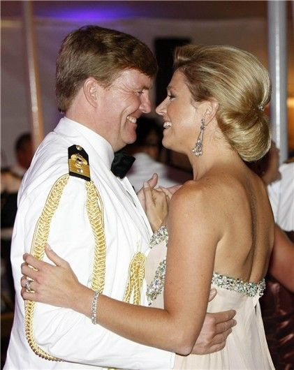 They will be the first King and Queen of the Kingdom of the Netherlands since the death of his great-great-grandfather in 1890.
