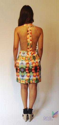 Vestido Festa - Florido