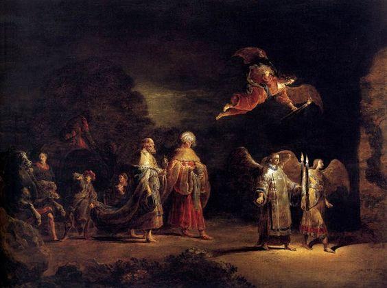 Leonaert Bramer: El viaje de los reyes magos, 1640.