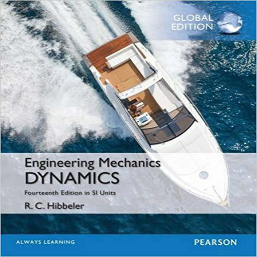Solution Manual For Engineering Mechanics Dynamics In Si Units 14th Edition By Hibbeler 교육