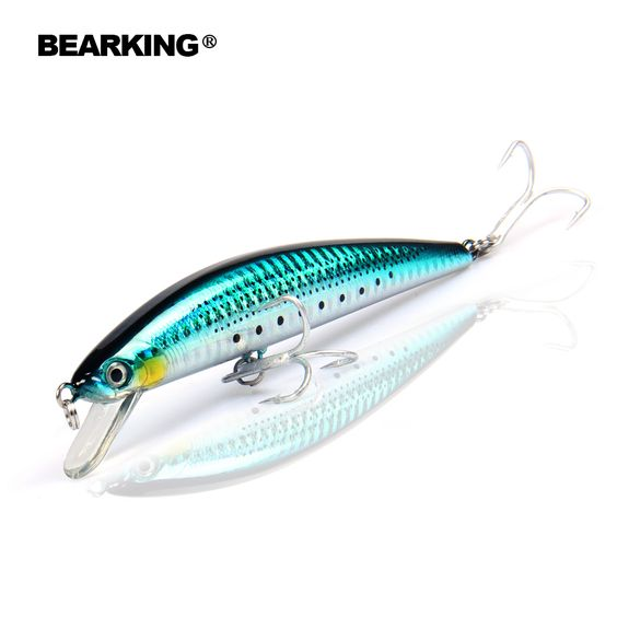 retail fishing tackle hot model a+ fishing lures, bearking, Soft Baits