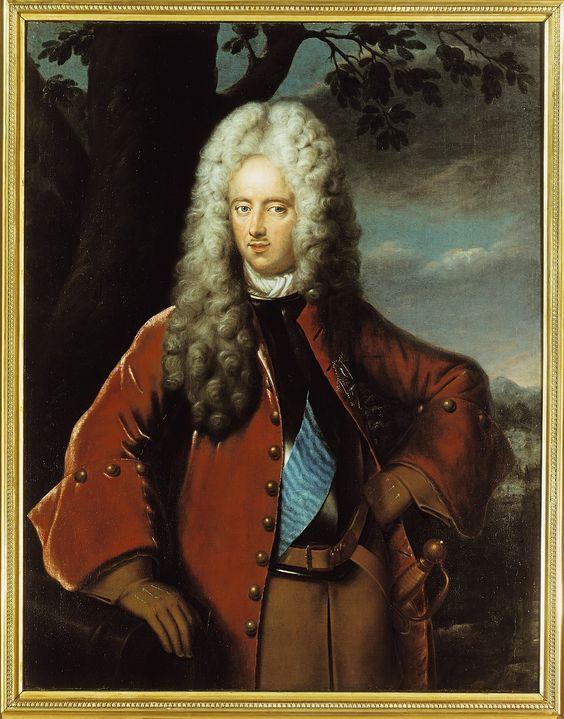 Joseph Anton Gabaleon Graf von Wackerbarth-Salmour (1685-1761), Kabinettsminister und Oberhofmeister